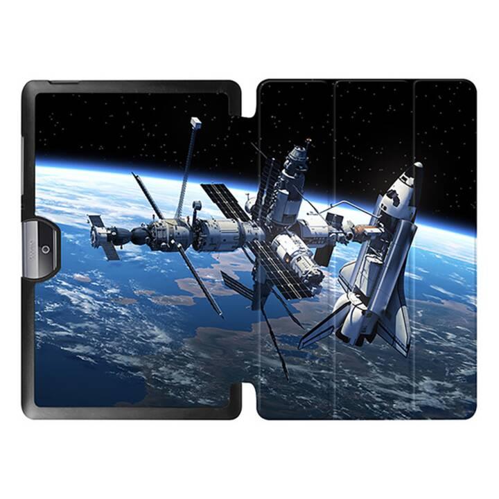 """EG MTT Tablet bag con coperchio pieghevole per Acer Iconia Tab 10 10 10.1"""" - Stazione Spaziale"""