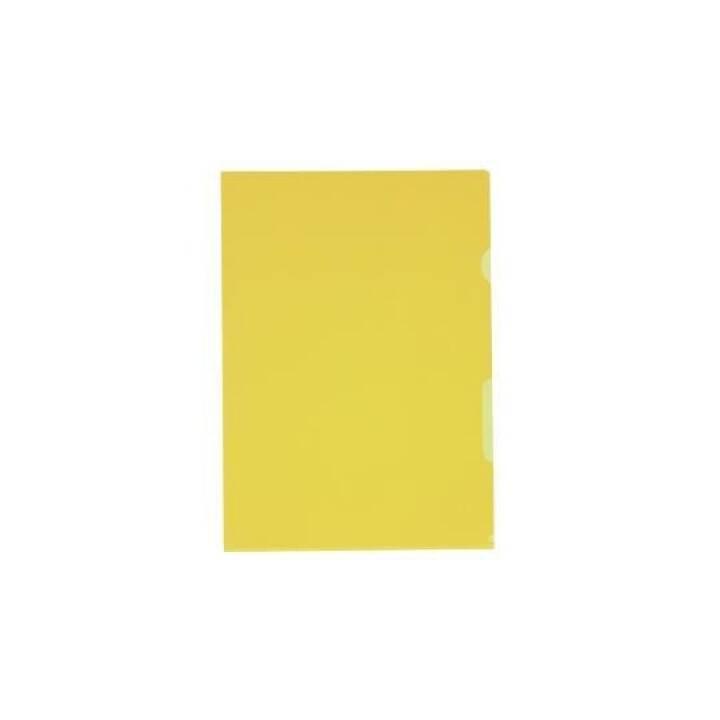 KOLMA RACER Copertina a vista Visa A4 giallo 10 pezzi
