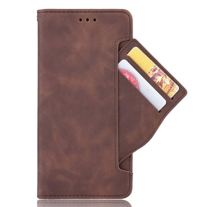 EG Mornrise Wallet Case für Samsung A21 6.5 '' (2020) - braun
