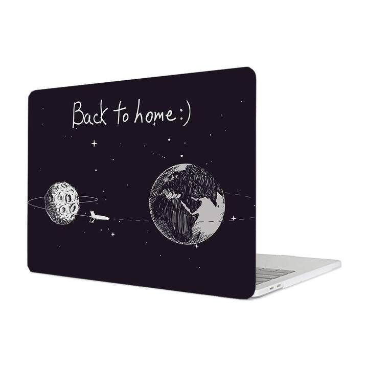 """EG MTT Étui pour Macbook Air 11"""" (2010/2011 - 2014/2015) - Astronaute du dessin animé"""