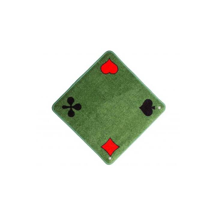 AGMÜLLER Tapis de Jass (Vert, 1 pièce)