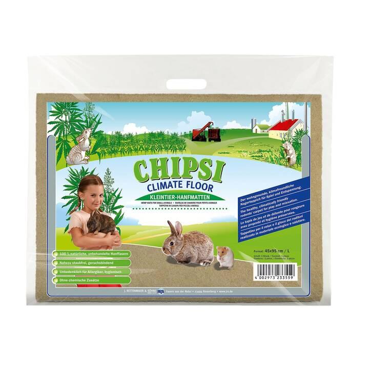 CHIPSI Climate Floor Tappetini antiscivolo (Roditori, Canapa, 500 g)