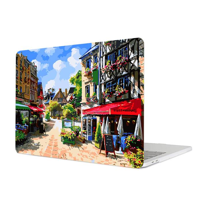 """EG MTT Cover für Macbook Pro 13"""" Touchbar (2016 - 2018) - Sketch Paris"""