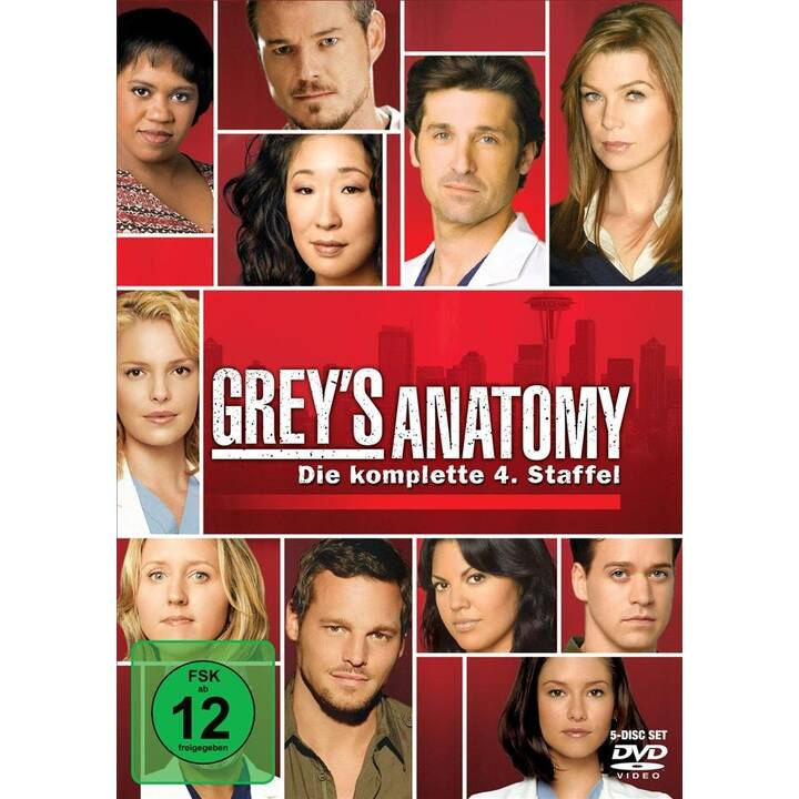 Grey's Anatomy Staffel 4 (EN, FR, DE)