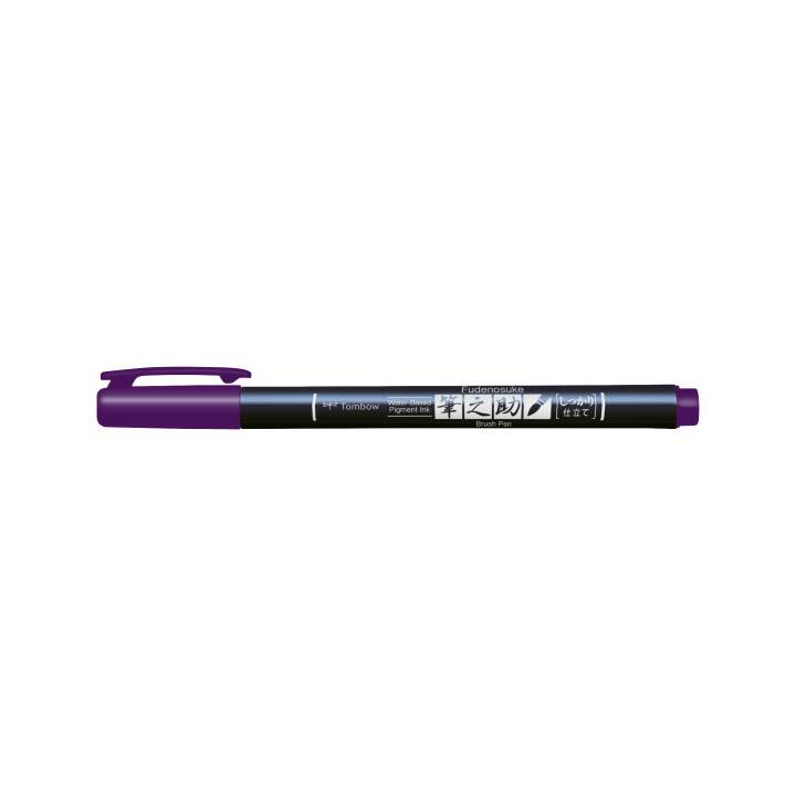 TOMBOW Calligraphie Fudenosuke Hard, Purple