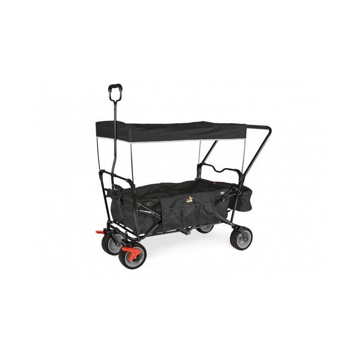PINOLINO Paxi dlx Comfort Leiterwagen (Schwarz)