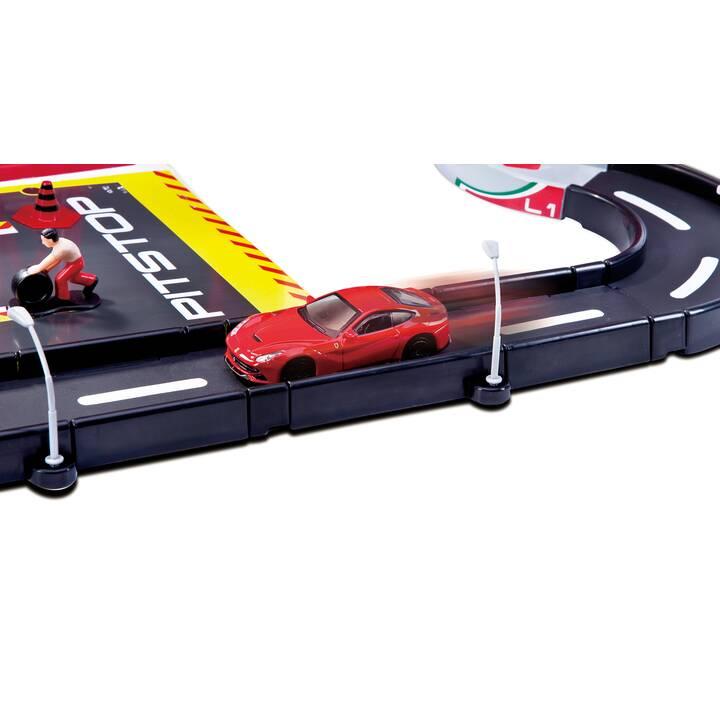 BBURAGO Ferrari Racing Garage Pista delle macchinine