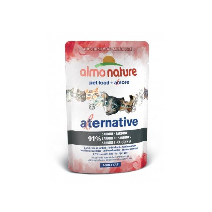 ALMO NATURE HFC Alternative (Adulto, 55 g, Sardina)