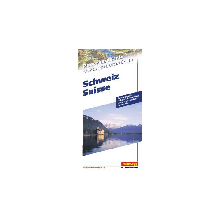 Schweiz. Panoramkarte