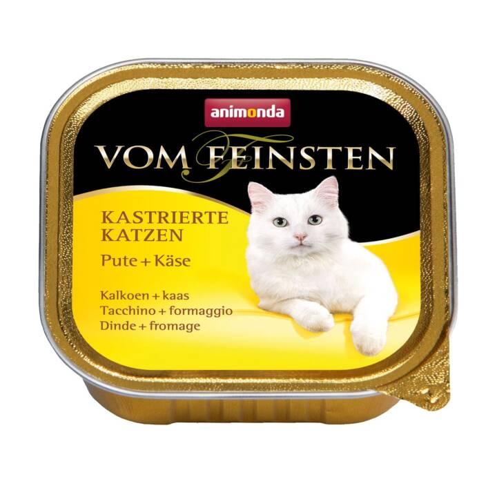 ANIMONDA Vom Feinsten (Adult, 100 g, Truthahn, Käse)