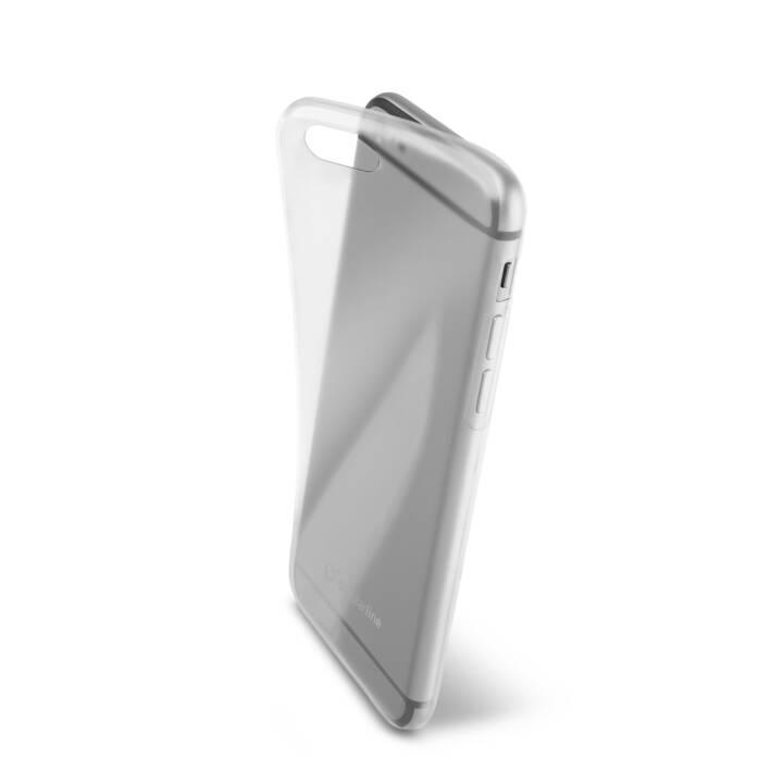 CELLULAR LINE Backcover Fine (iPhone 6, iPhone 6s, Transparente)