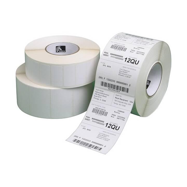 ZEBRA 1000T Etiketten (63.5 x 38.1 mm)
