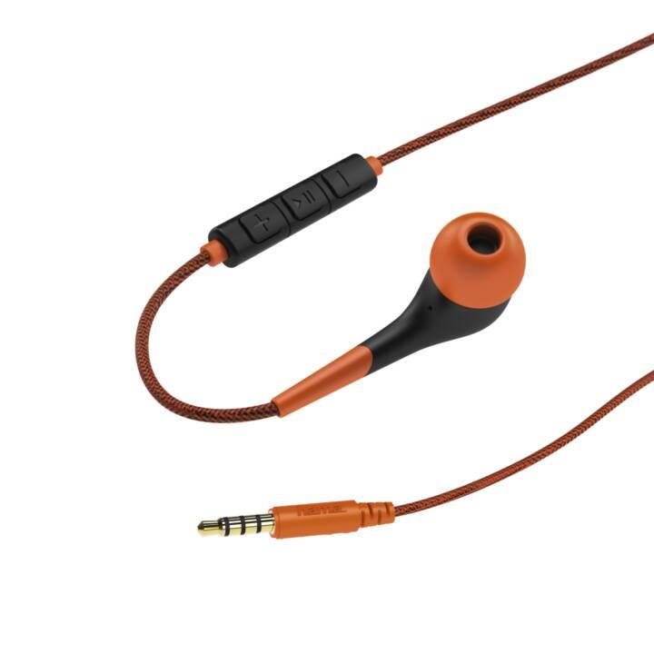 """HAMA In-Ear-Stereo-Headset """"Neon"""", Orange"""