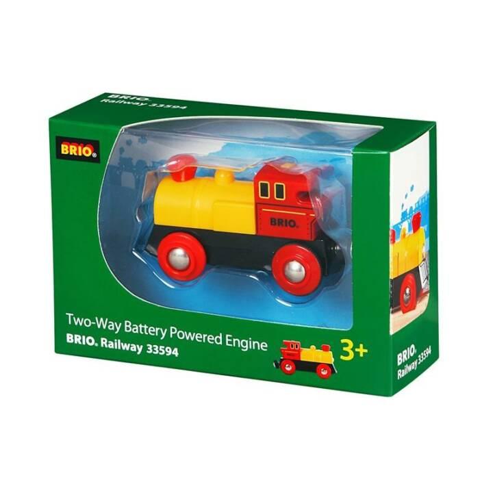 BRIO Locomotiva Giallo - Rosso