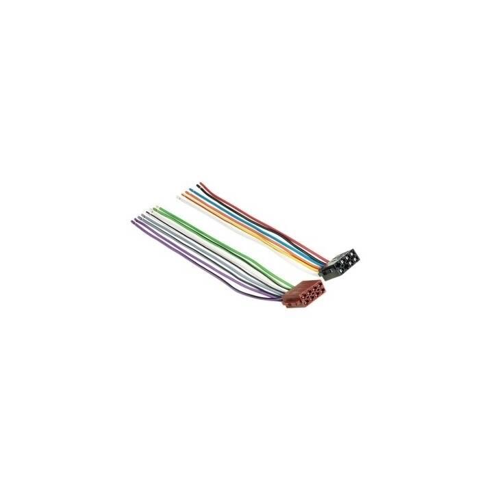 HAMA Adaptateur de voiture Fiche ISO universelle Interface/adaptateur de câble