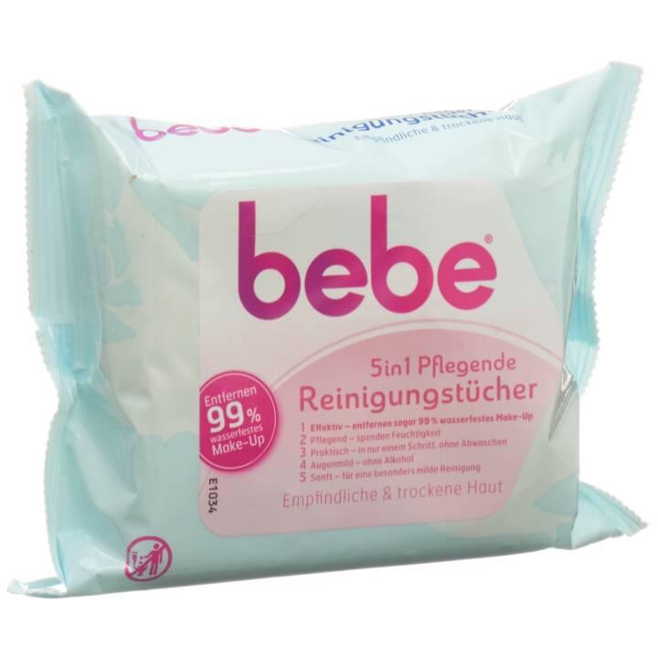 BEBE 5in1 pflegende Reinigungstücher
