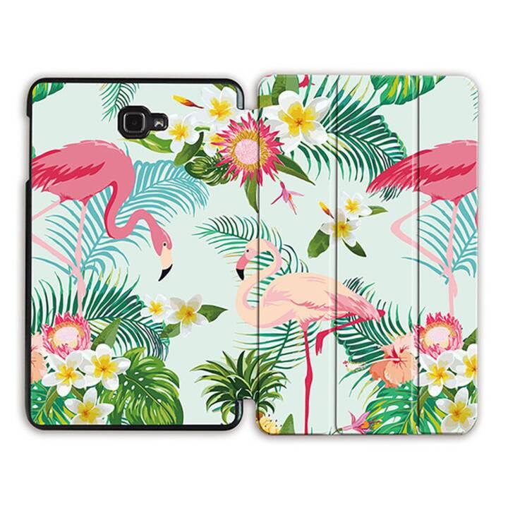 """EG MTT Tablet Tasche mit Smart faltbare Abdeckung für Samsung Galaxy Tab A 10.1"""" (2016)- Flamingo"""