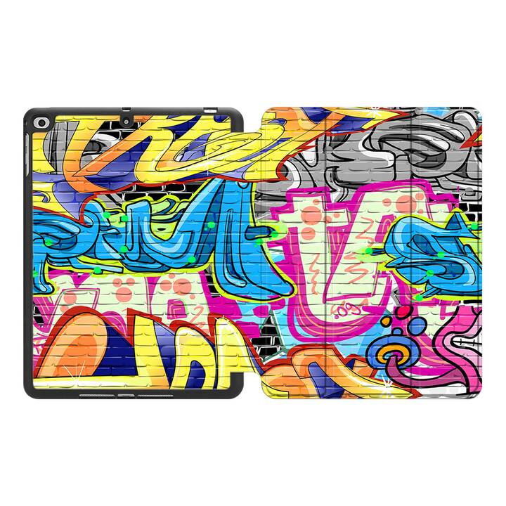 """EG MTT Hülle für Apple iPad Pro 2017 10.5"""" - Graffiti"""