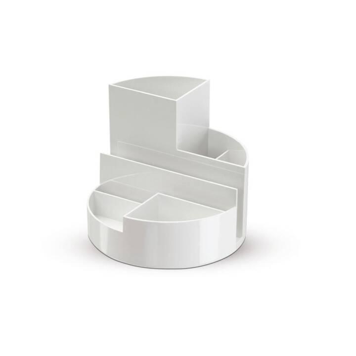 Porte-stylo MAUL boîte ronde Blanc