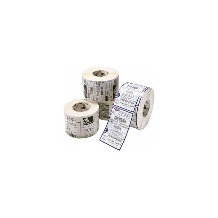 ZEBRA TECHNOLOGIES Etiketten (25.4 x 101.6 mm, 4 Stück)