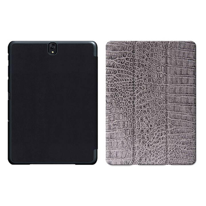 "EG MTT Sacoche à comprimés avec housse pliable Smart pour Samsung Galaxy Tab S3 9.7"" MTT - Snake Skin"