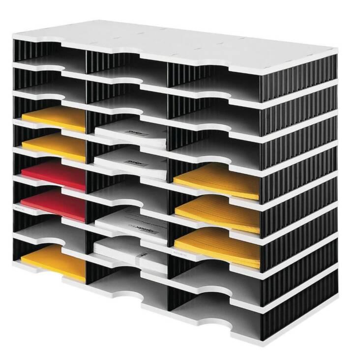 STYRO Ablagebox (Schwarz, Grau)