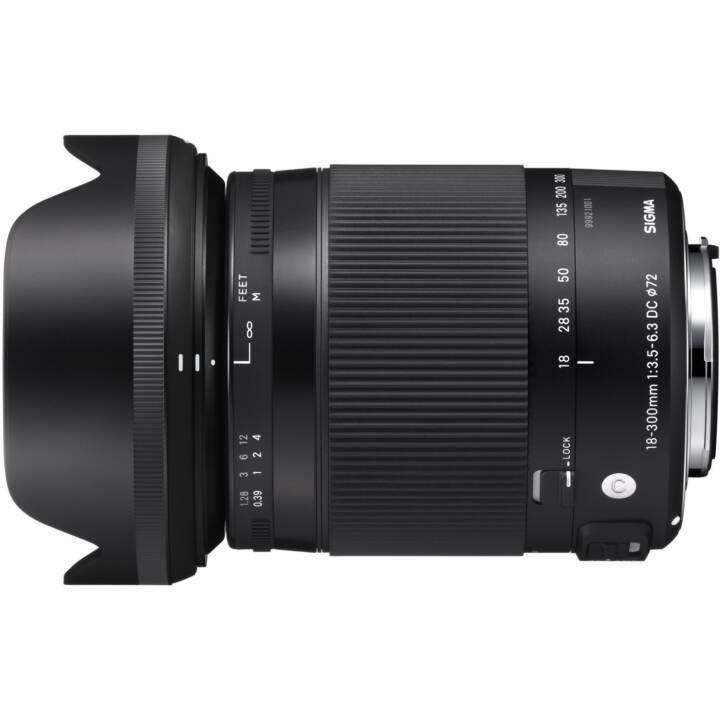 SIGMA Contemporary Zoomobjektiv 18 mm - 300 mm f/3.5-6.3