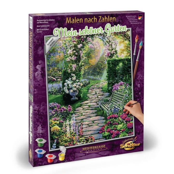 SCHIPPER Malen nach Zahlen Mein schöner Garten