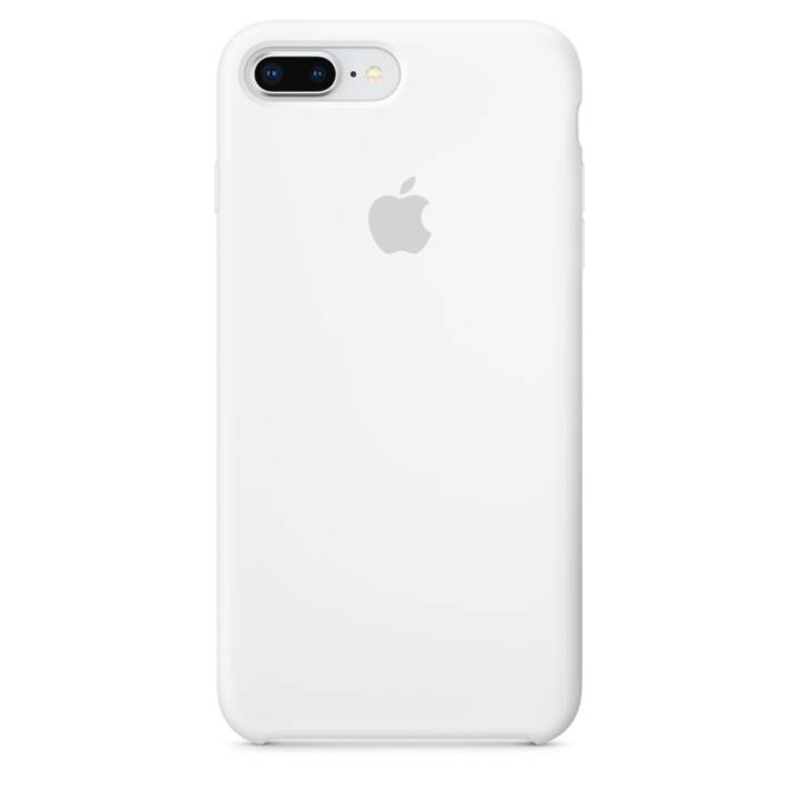 APPLE iPhone 8 Plus / 7 Plus Silikon Case Weiss