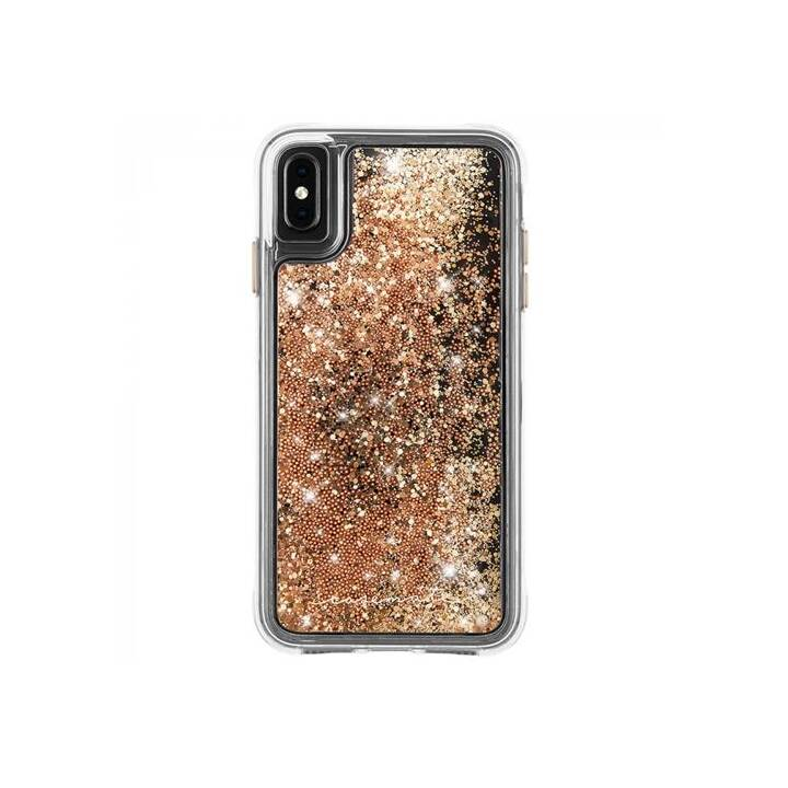 CASE-MATE Hardcase Waterfall  (iPhone XS Max, Gold)