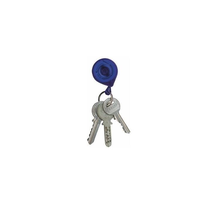 Schlüsselanhänger KB mini blau