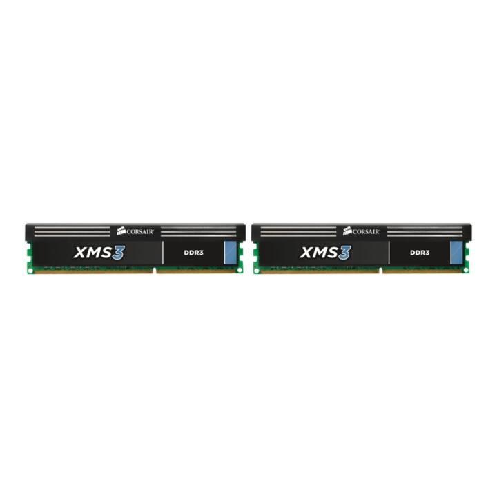 CORSAIR XMS3 (2 x 8 Go, DDR3-SDRAM, DIMM 240-Pin)