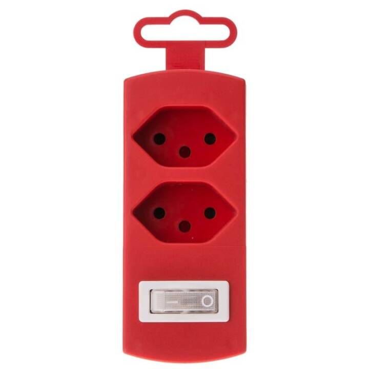 MAX HAURI Connettore del display 2xTyp13 maxTex Rosso