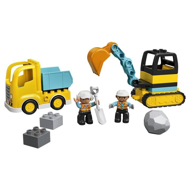 LEGO DUPLO Le camion et la pelleteuse (10931)