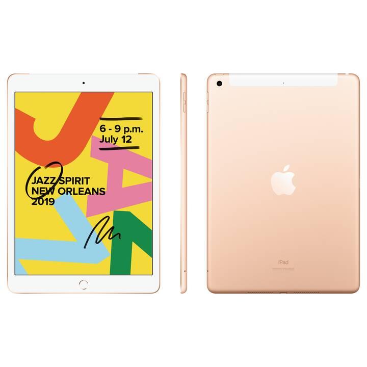 """APPLE iPad WiFi + LTE, 10.2"""", 128 GB, Gold (2019)"""