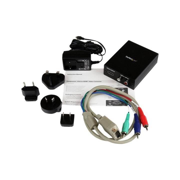 StarTech.com Composite / VGA und Audio a