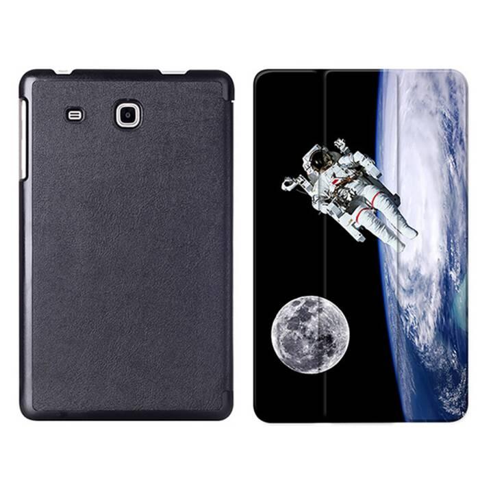 """EG MTT Tablet Tasche mit Smart faltbare Abdeckung für Samsung Galaxy Tab A A6 7 """"- Astronaut"""