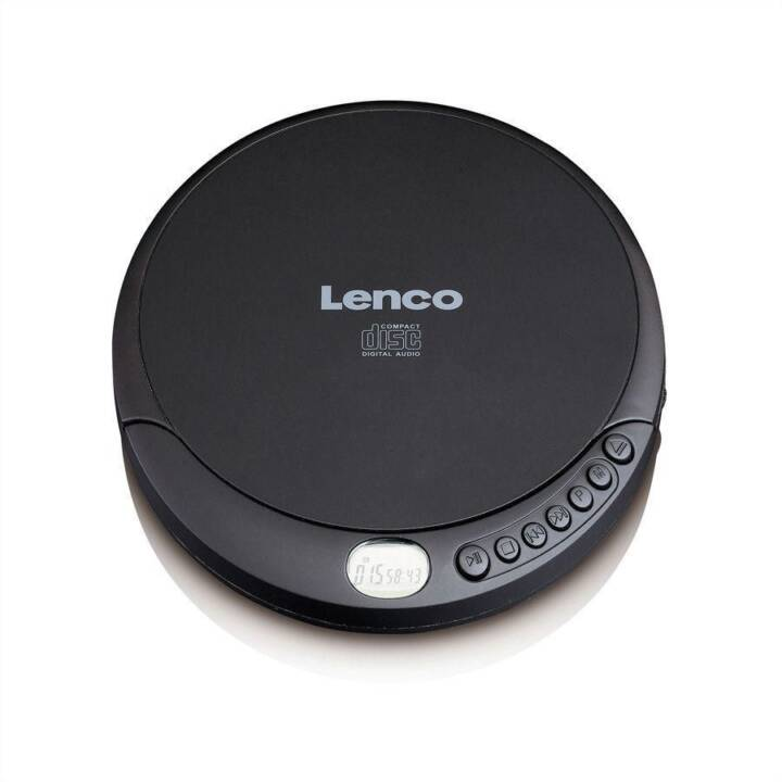 LENCO Lettori CD CD-010 (Nero)