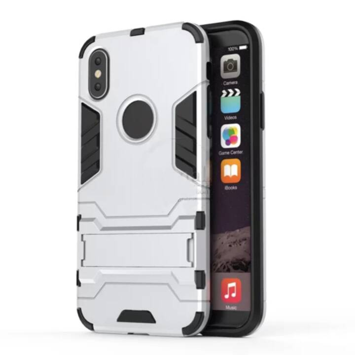 EG Backcover per iPhone 8 Plus Silver