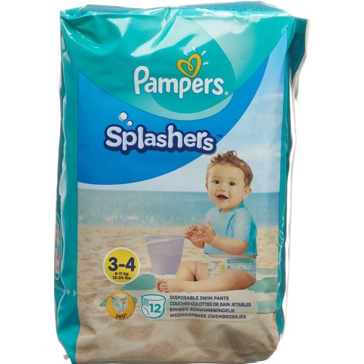 Pampers Splashers Bade windel  Einweg-Schwimmwindeln  Größe Gr 3 4 5 6