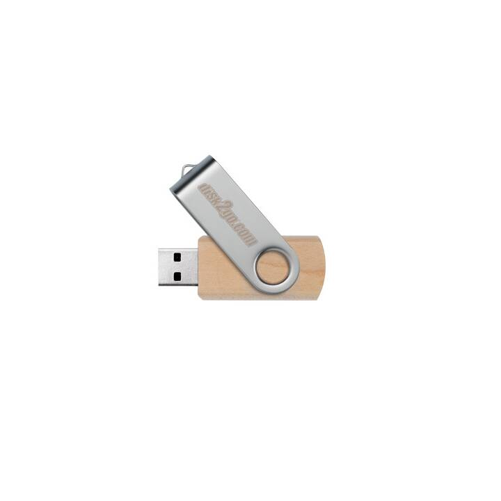 Disk2GO Chiavetta USB in legno 32GB USB 2.0