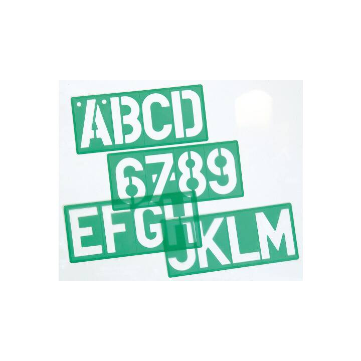 Pochoir à lettres LINEX A/S 100mm