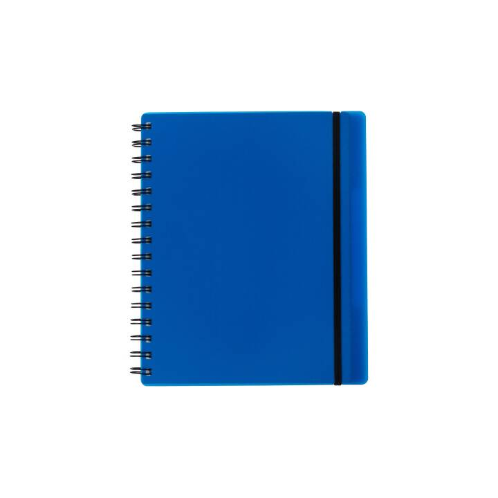 KOLMA RACER Notizbuch Easy KolmaFlex A5 blau, kariert 5mm 100 Bl.
