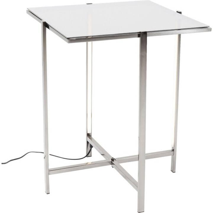 KARE Petite table Haight Ashbury Square (55 cm, Argent)