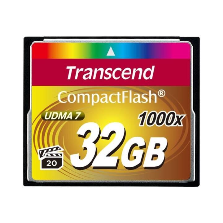TRANSCEND Ultimate, 32 Go, CompactFlash