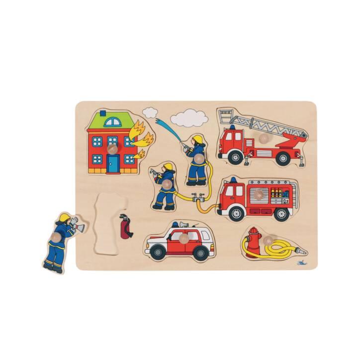 puzzle dei vigili del fuoco GOKI pompieri