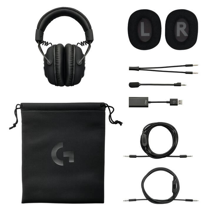 LOGITECH G PRO X Gaming Headset (Over-Ear, Nero)
