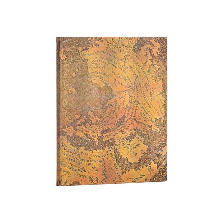 PAPERBLANKS Carnets Flexis Hunt-Lenox (18 cm x 23 cm, Ligné)