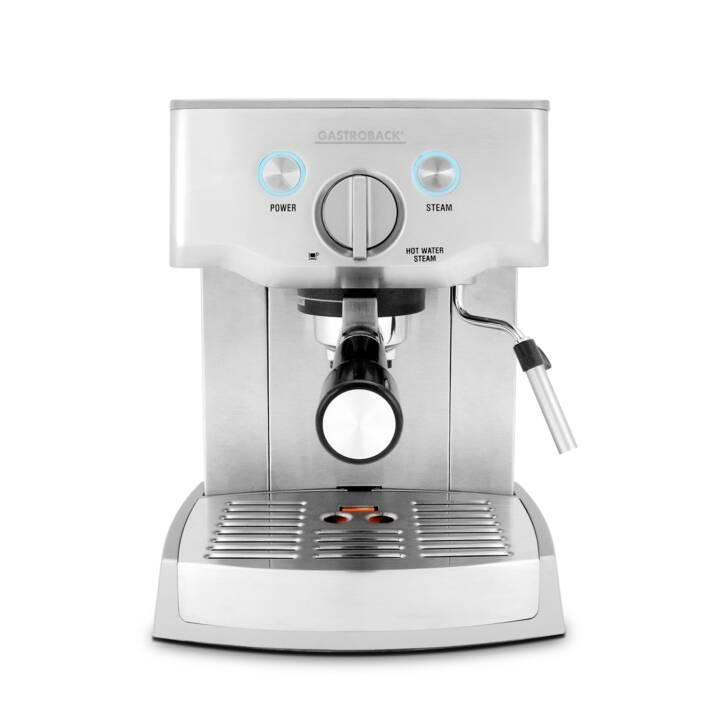 GASTROBACK Design Espresso Pro (Acier inox)