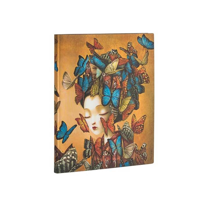 PAPERBLANKS Carnets Butterfly  (B4, Ligné)